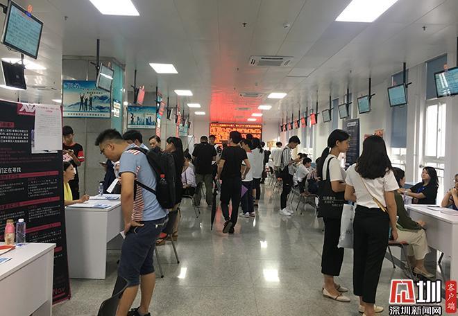 盐田区举办高校毕业生就业专场招聘会 提供岗位844个