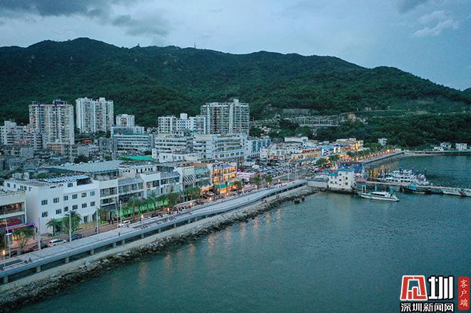 盐田海滨栈道海鲜街段完工 19.5公里海滨栈道全线贯通