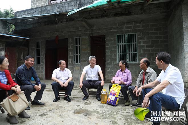 区领导率队赴广西百色市乐业县开展对口扶贫协作工作