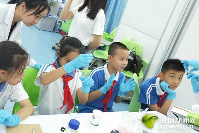 增强水资源保护意识 水质化验课走进盐田学生课堂